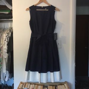 Tommy Hilfiger Navy and White dress